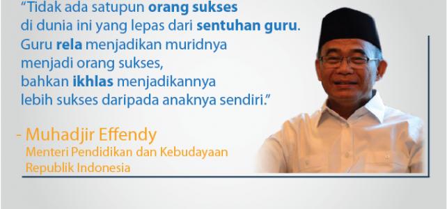 Ayo Hormati Guru! Guru Indonesia Mulia Karena Karya