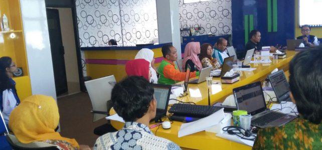 Bimbingan Teknis Pengelolaan Website Tingkat Dasar Tahun 2018
