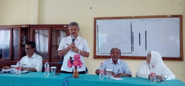 Pembinaan Kepala Dinas di SMP Negeri 12 Kota Cirebon